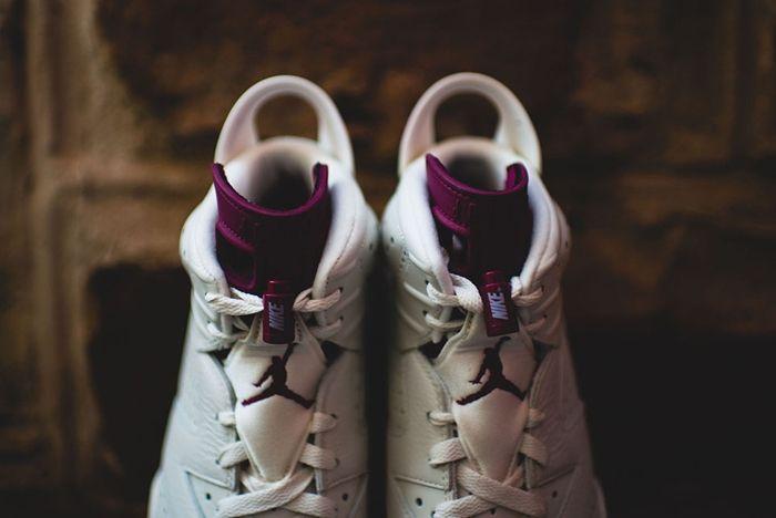 Nike Air Jordan 6 Retro Maroon 1