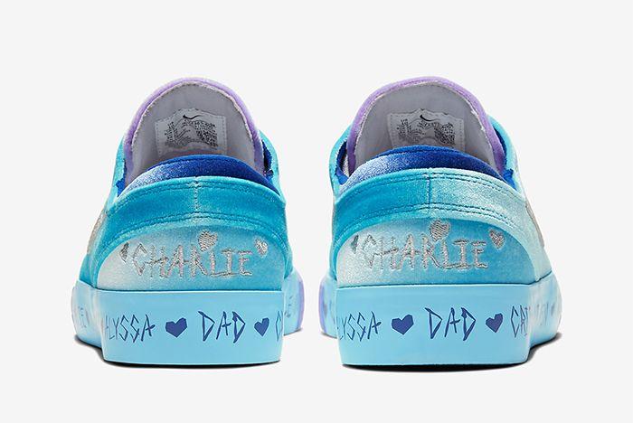 Desiree Castillo Nike Sb Zoom Janoski Doernbecher Heel