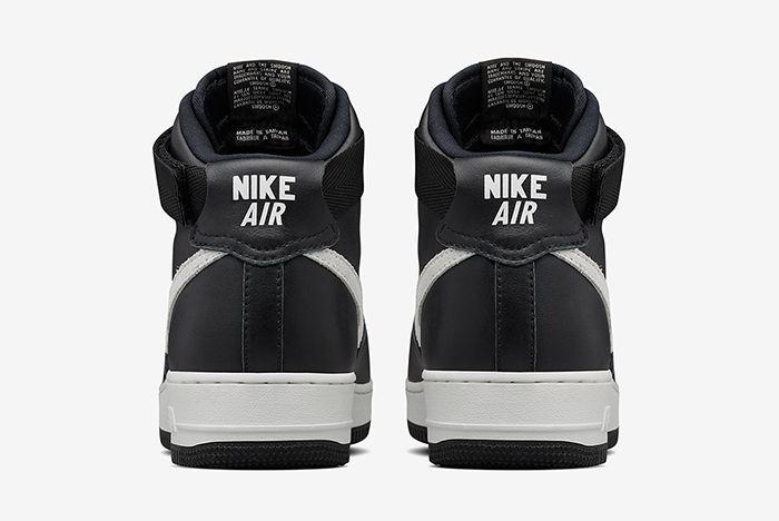 Nike Air Force 1 High Qs Blackwhite3