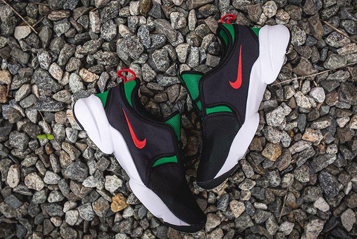 Nike Loden Womens Black Atomic Red Pine Green 2