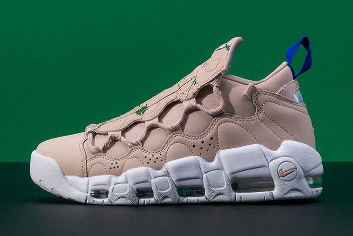 Nike Air More Money Snake Green Splatter 2