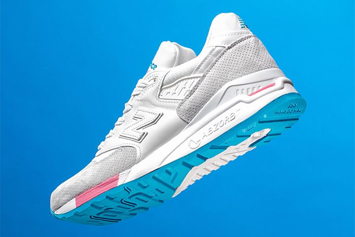 New Balance 998 Cotton Candy Sneaker Freaker