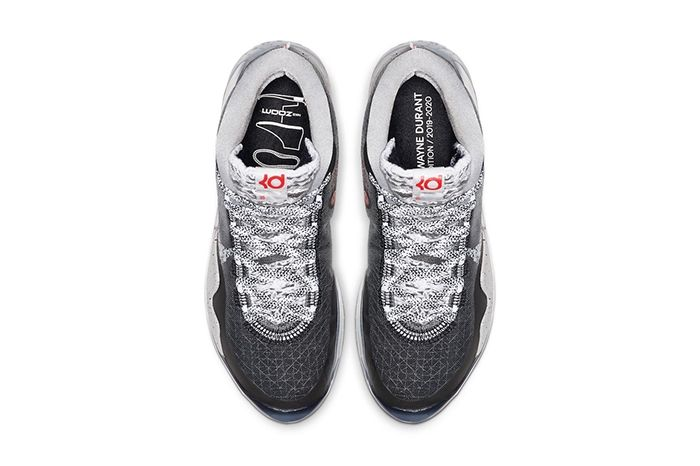 Nike Kd 12 Black Cement Release Date Top Down