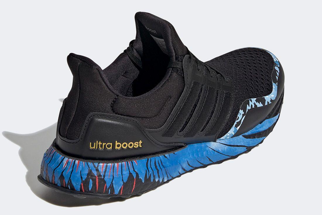 Adidas Ultraboost Cny Black Blue Back
