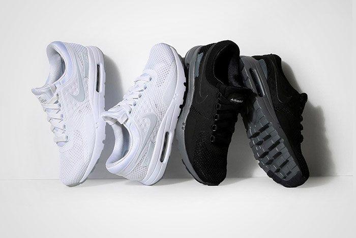 Nike Air Max Zero Black White Thumb