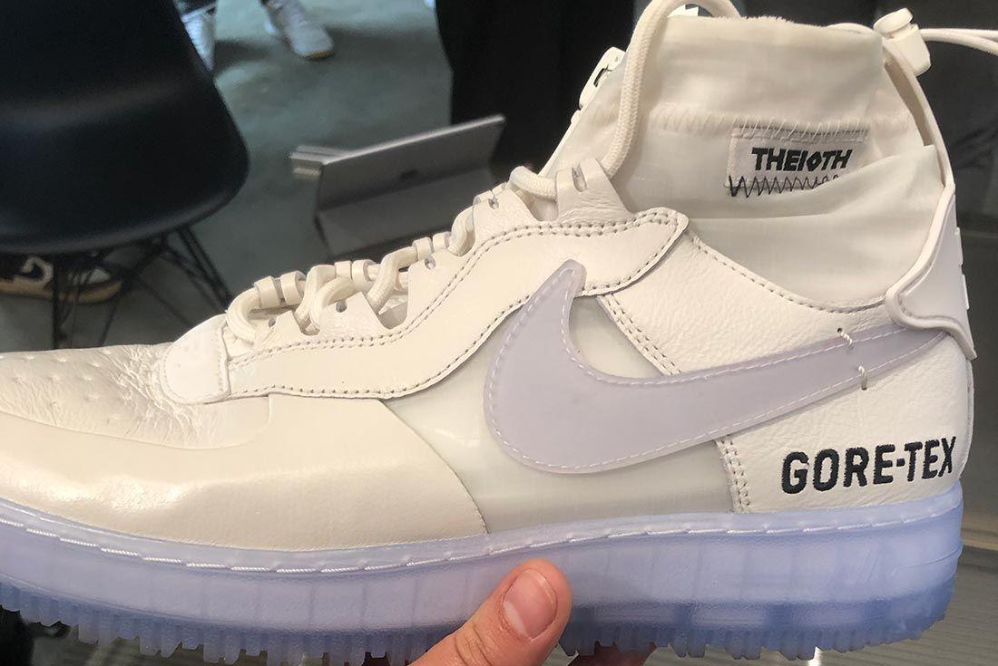 Nike Air Force 1 High Gore Tex White Left