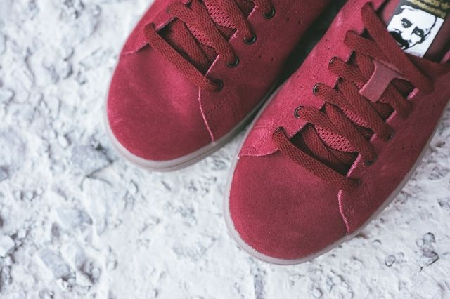 Adidas Stan Smith Vulcanised Burgundy Bumperoo 3