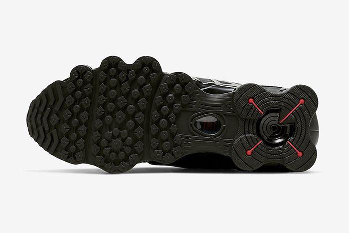 Nike Shox Tl Black Metallic Hematite Av3595 002 Release Date Outsole