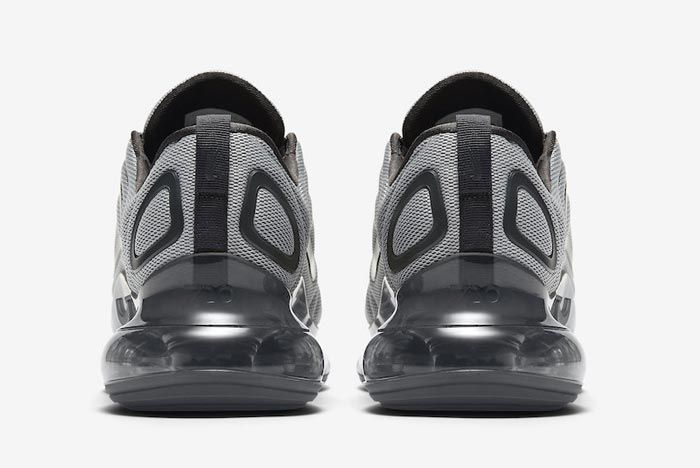 Nike Air Max 720 Wolf Grey Anthracite Heels
