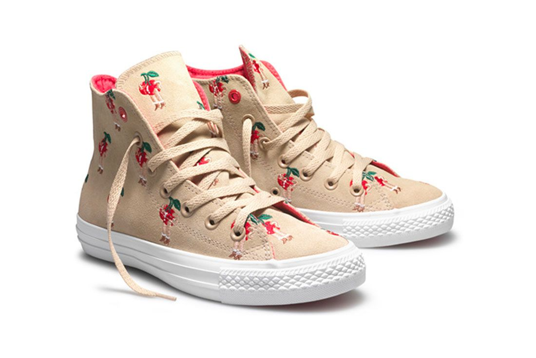 Parra Converse RED Chuck Taylor All Star Cherry