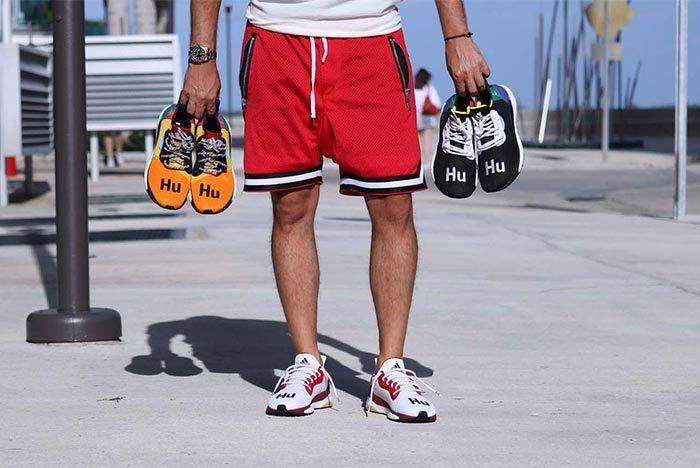 Pharrell Williams X Adidas Solar Hu Glide St White 1
