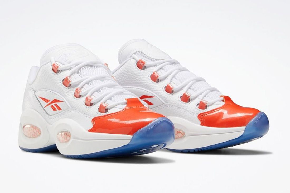 Reebok Question Low FX4999 Front Angle