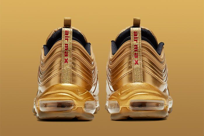 Nike Air Max 97 Gold Medal Ct4556 700 Heel