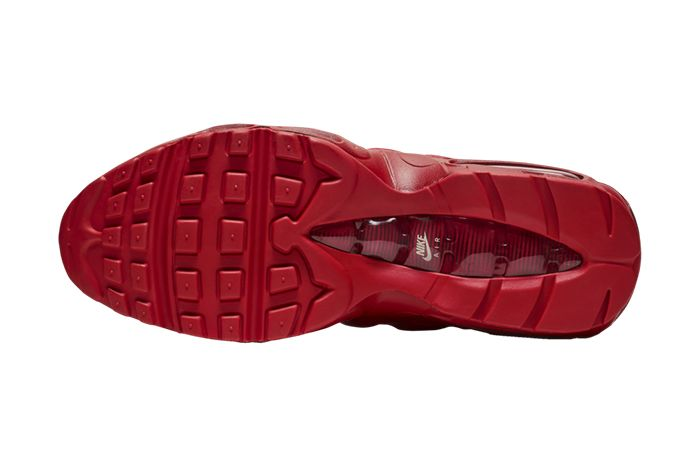 Nike Air Max 95 Triple Red Bq9969 600 Release Date Outsole