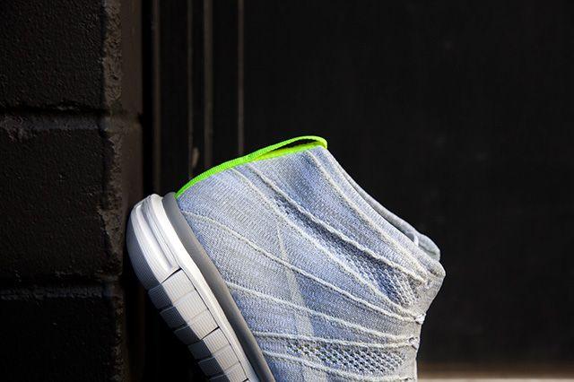 Nike Free Flyknit Chukka Wolf Grey 2