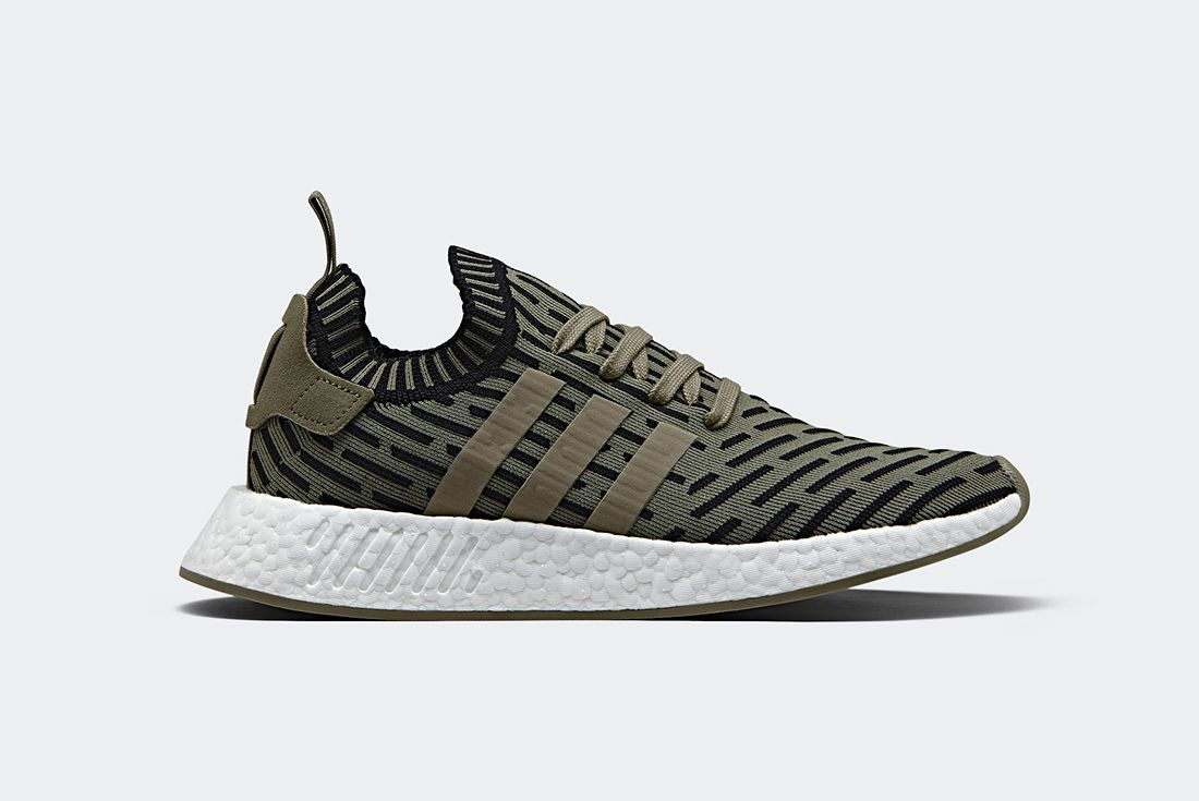 Adidas Nmd R2 Olive Shadow Noise