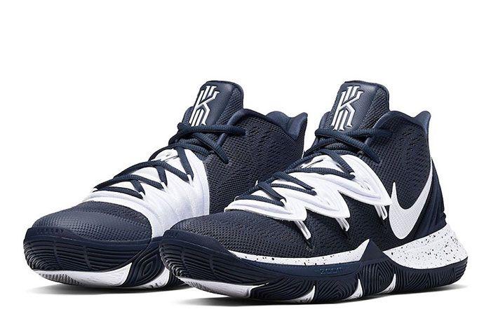 Nike Kyrie 5 Team Bank Blue White Toe
