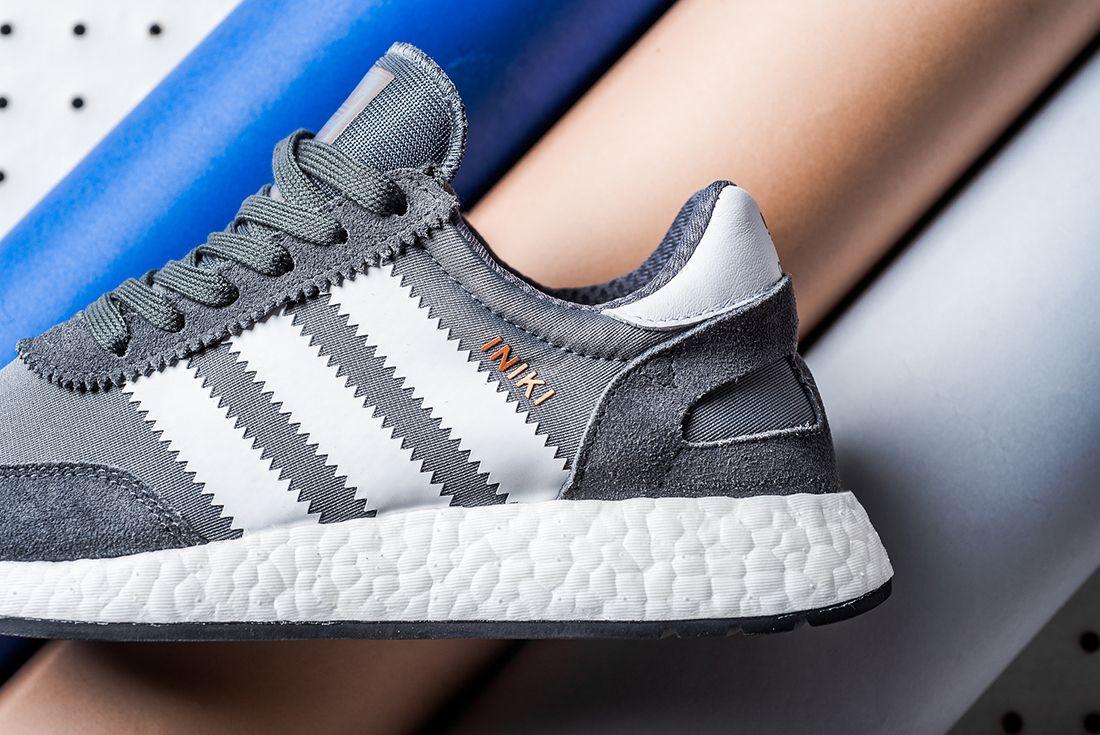 Adidas Iniki Runner Boost Grey White7