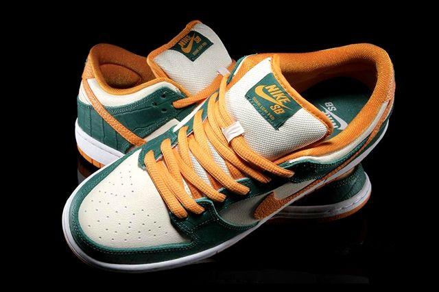 Nike Sb Dunk Low Legion Pine Kumquat 1