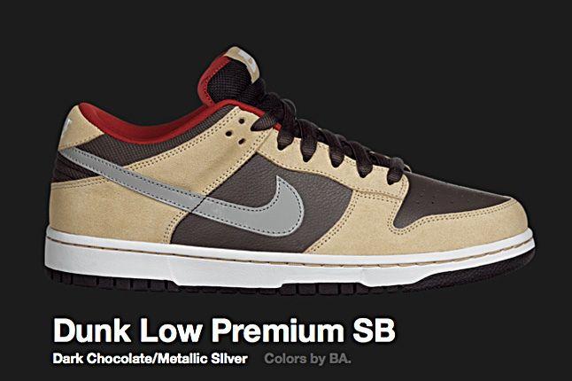 Nike Dark Choc Dunk Low Sb 2010 1