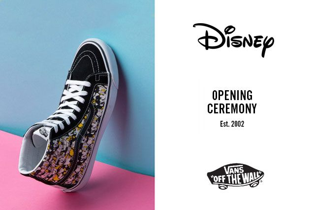 Mickey Mouse X Opening Ceremony X Vans Steamboat Willie Feature3