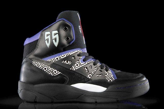 Adidas Mutombo Black Purple 6