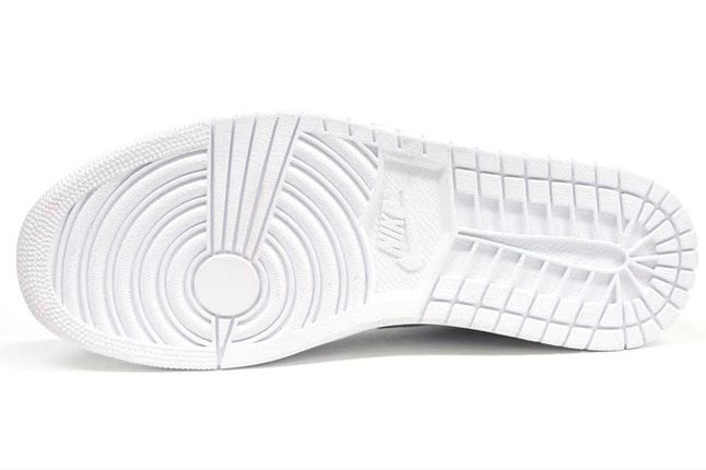 Air Jordan 1 White On White Sole 1