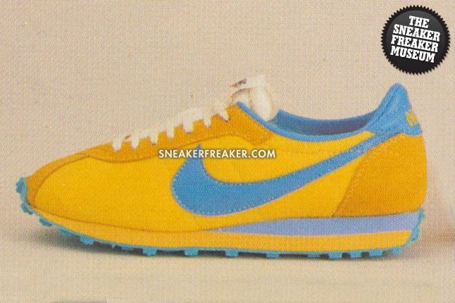 Lady Waffle Trainer Nylon Yellowblue 2232 1Large 1