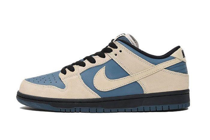 Nike Sb Dunk Low Pro Cream Blue 3