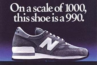 New Balance 990 Series: Pioneering