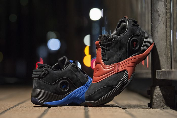 Reebok Answer V Black Nubuck Pack Power Red College Royal Blue Release Date Hero