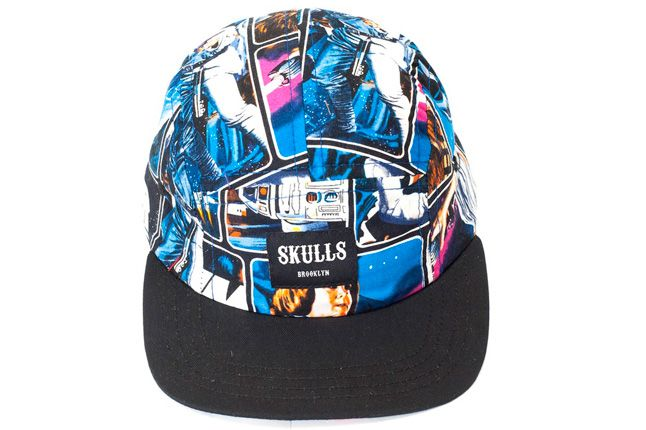 Skulls Star Wars Cap Jedi Black 1