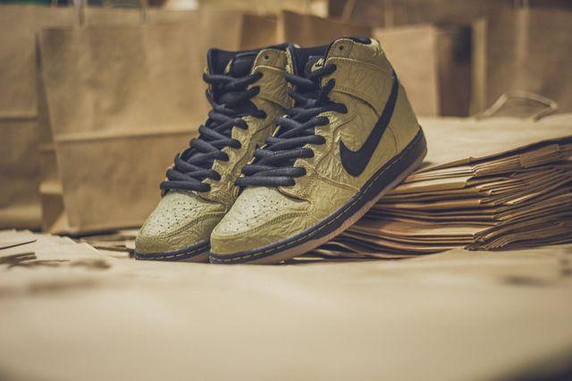 Nike Sb Dunk High Prem Brown Paper Bag4