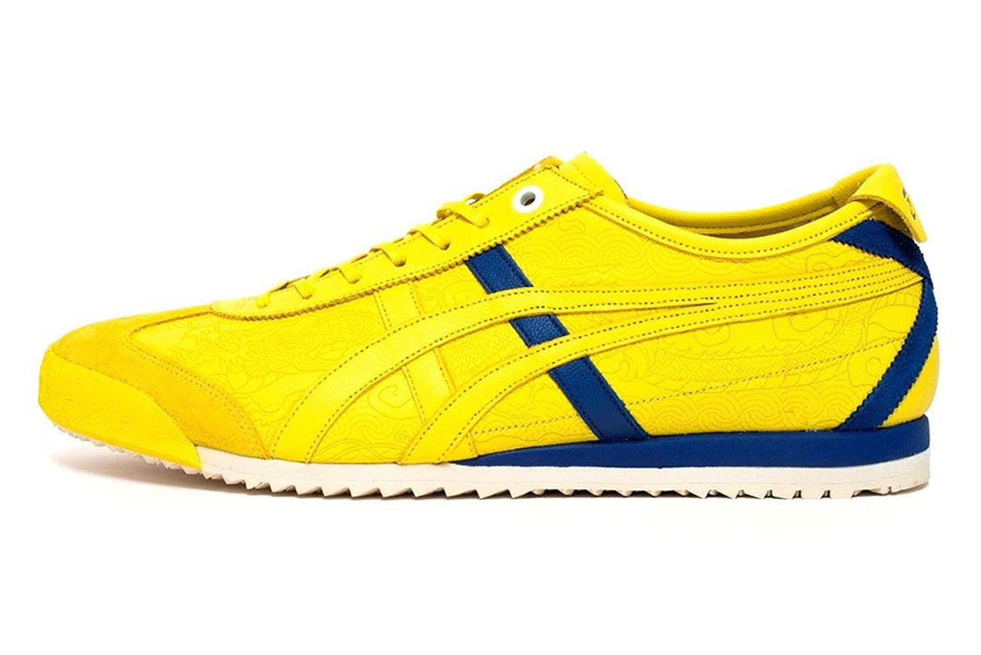 Onitsuka Tiger Mexico 66D Street Fighter Yellow Left