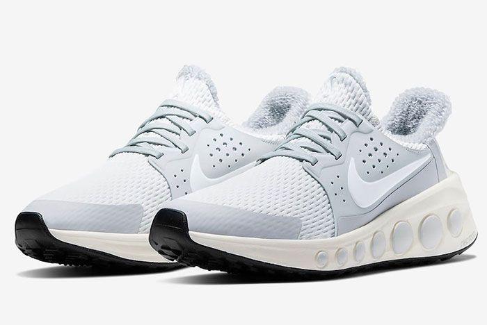 Nike Cruzr One Pure Platinum Ct3423 001 Front Angle