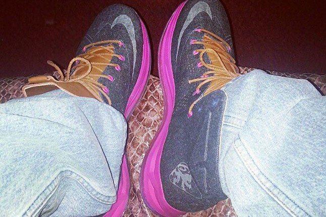 Nike Lebron X Denim 1