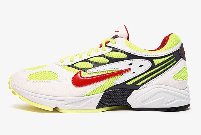 Nike Air Ghost Racer At5410 100 Lateral