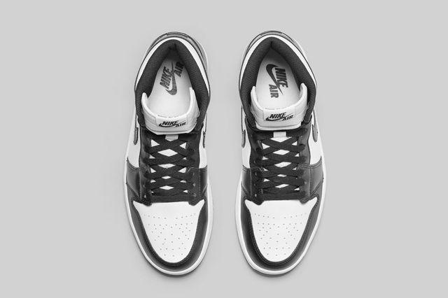 Air Jordan 1 Black White Bump 1