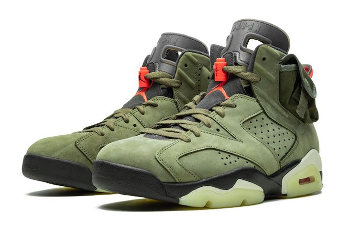 Travis Scott Air Jordan 6 Left