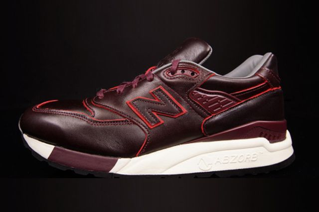New Balance 998 Horween Leather 1