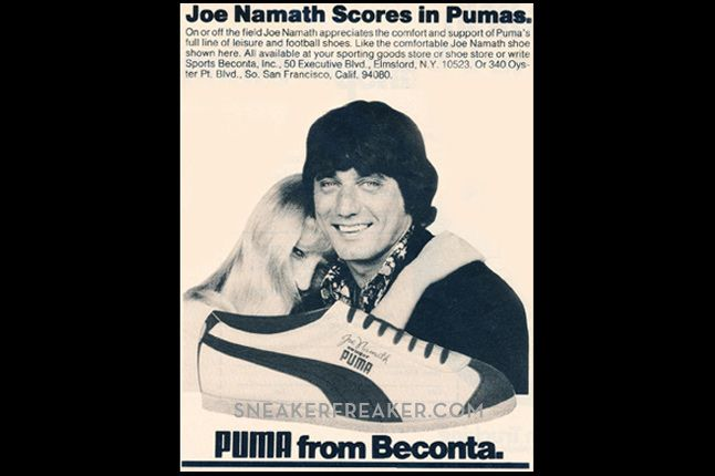 Puma Joe Nameth Scores In Puma Ad 3