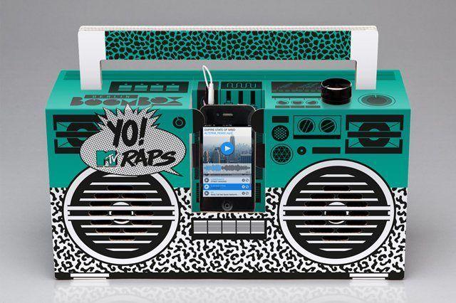 Berlin Boombox Yo Mtv Raps Boombox 7