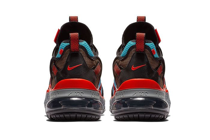 Nike Air Max 270 Bowfin Aqua Red Brown 4