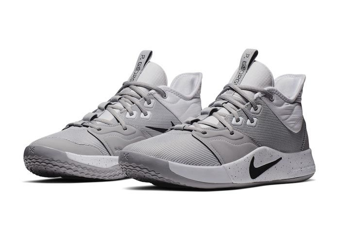 Nike Pg 3 Team Bank Grey Pair