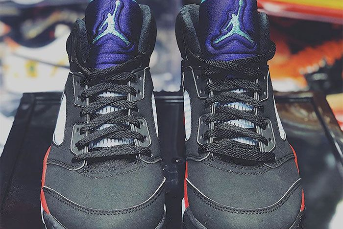 Air Jordan 5 Top 3 Laces