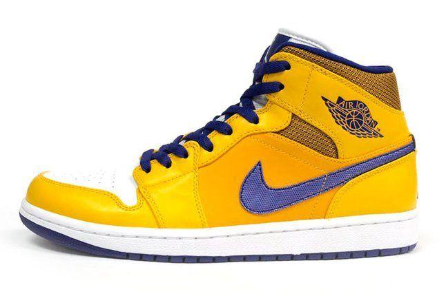 Air Jordan 1 Lakers Profile 1