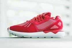 Adidas Tubular Runner Weave Scarlet Thumb