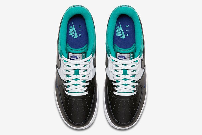 Nike Air Force 1 Mini Swoosh Neptune Green4
