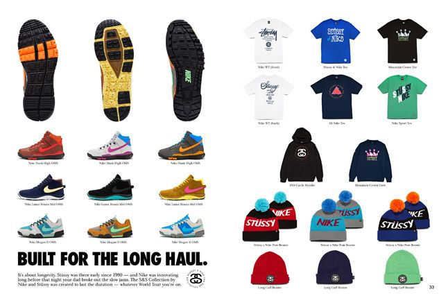 Nike X Stussy Ss Off Mountain Series Collection 1