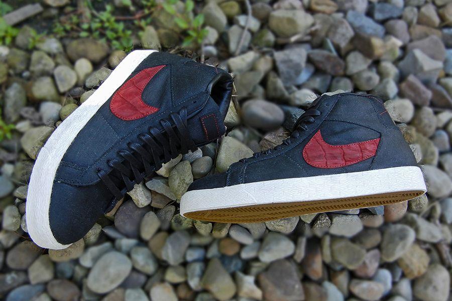 Nike Blazer Mid Suede Croc Jbf Customs 4
